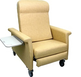 Winco 6910 XL Elite CareCliner with Nylon Casters and LiquiCell