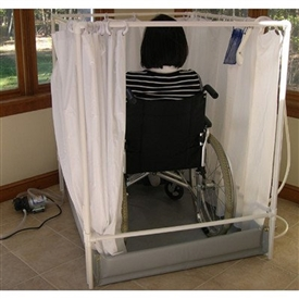 LiteShower Wheelchair Accessible Portable Shower Stall