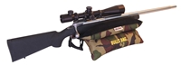 "#91505-Bench Camo/Suede 15"" BULLS BAG Shooting Rest (Filled)"