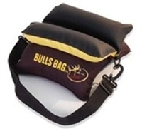"RMEF #16012-RMEF Field Black-Gold/Tuff-Tec 10"" BULLS BAG Shooting Rest (Unfilled)"