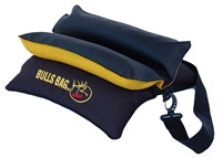 "RMEF #16022-Bench Black-Gold/Tuff-Tec 15"" BULLS BAG Shooting Rest (Unfilled)"