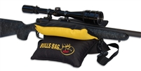 "RMEF #916012-Field Black-Gold/Tuff-Tec 10"" BULLS BAG Shooting Rest (Filled)"