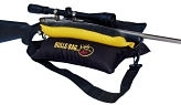 "RMEF #916022-Bench Black-Gold/Tuff-Tec 15"" BULLS BAG Shooting Rest (Filled)"