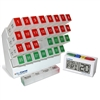 31 Day Large Capacity Monthly Pill Organizer and Talking Pill Reminder System