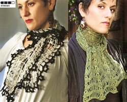 Crochet Lace Scarves