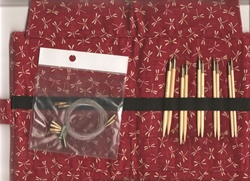 KA Premium Bamboo Exchangeable Circular Needle Set  Medium Size Selection