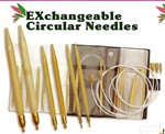 KA Premium Bamboo Exchangeable Circular Needle Set