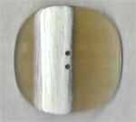 Extra Large Natural Stripe Plastic Button 86