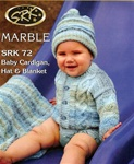 Baby Cardigan, Hat & Blanket