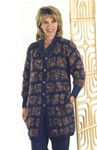 Trendsetter Pattern #1729 Dune & Merino Boxed Cabled Coat