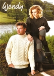 His and Hers Aran Style Sweaters