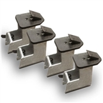Ranger 5327861 Elevated Expansion Clamps Motorcycle / ATV Clamp Adapters (Set of 4) for R745