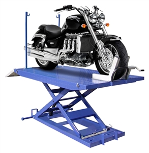 Auto Lift M-1500C-HR Hi-Rise Motorcycle Lift w/Side Extensions