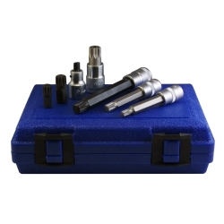 Assenmacher 7 Piece VW/Porsche 12 Point Socket/Bit Set ASS6300