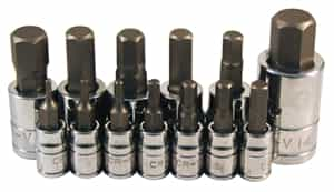 ATD Tools 13 pc. Metric Hex Bit Socket Set ATD-13785