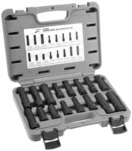 ATD Tools 3065 16 Pc. Locking Wheel Nut Master Key Set - ATD-3065