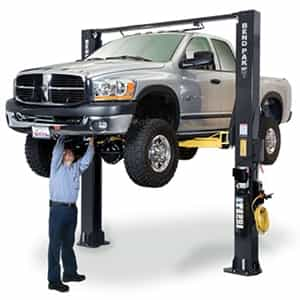 BendPak XPR-10S-168 Clearfloor Dual-Width Extra-Tall Two Post Car Lift 10,000 lb.