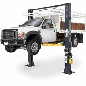 BendPak XPR-15CL Clearfloor Standard Arms Two Post Car Lift 15,000 lb.
