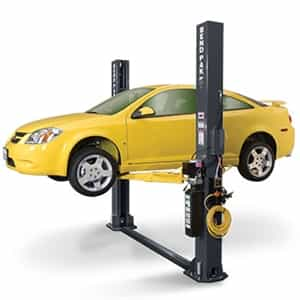 BendPak XPR-9S Dual-Width Floorplate Chain-Over Two Post Short Car Lift