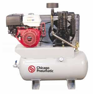 Chicago Pneumatic RCP-1330GAir Compressors w/Honda 2-Stage Gas Diven Motor p/n CPTRCP-1330G
