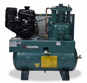 FS-Curtis CT14-K 13HP 30G Horizontal Kohler Gas Drive Air Compressor -  FCTKDC75H3X-AXL1XX