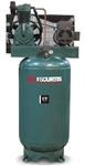 FS-Curtis CT5 5-HP 80-G Vertical Two-Stage Simplex Air Compressor w/Magnetic Starter (1/60/230V - FCT05C55V8S-A2L1XX, 3/60/200-208V - FCT05C55V8S-A9L1XX, 3/60/230V - FCT05C55V8S-A3L1XX, 3/60/460V - FCT05C55V8S-A4L1XX)