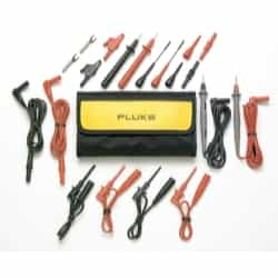 Fluke Deluxe Electronic Test Lead Kit FLUTL81A