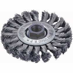 "Firepower 4"" Diameter Stringer Bead Wire Wheel Brush FPW1423-2111"