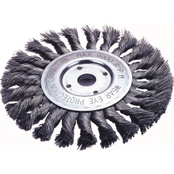 "Firepower 4"" Diameter Standard Twist Wire Wheel Brush FPW1423-2113"