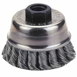 "Firepower 6"" Diameter Knot-Type Wire Cup Brush FPW1423-2116"