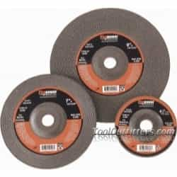 "Firepower 4-1/2"" x 1/8"" x 5/8"" 11NC Type 27 Depressed Center Grinding Wheel FPW1423-3201"