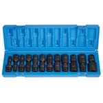 "Grey Pneumatic 12 Piece 3/8"" Drive Deep Fractional Universal Impact Socket Set GRE1212UD"