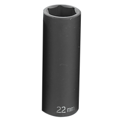 "Grey Pneumatic 1/2"" Drive 22mm Metric Deep Impact Socket GRE2022MD"