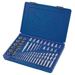 Hanson 48pc Screw Extractor/Drill Master Set HAN3101010