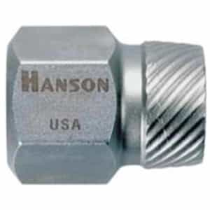"Hanson 11/32"" Hex Head Multi-Spline Screw Extractor HAN53208"