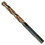 "Hanson 3/16"" Turbomax High Speed Steel Straight Shank Jobber Length Drill Bit HAN73112"