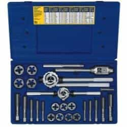 Hanson 25 Piece Metric Tap and Hex Die Set HAN97311