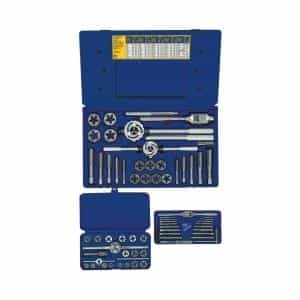 Hanson 66 Piece Fractional Tap and Hex Die Set HAN97606