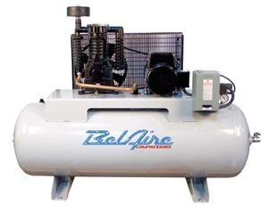BelAire 338HLE4 7.5 HP 80G Three Phase Elite Air Compressor P/N 8090250032