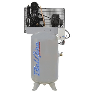 BelAire 418V 5HP 80V Gal. Iron Series Single Phase Electric Air Compressor P/N 8090253132