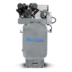 "BelAire 6312VE 10HP 120G Iron Series Three Phase ""Elite"" Electric Air Compressor P/N 8090253546"