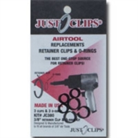 "Just Clips 12 Pack 1/2"" Anvil Retainer Clip Refill Kit JSC500-12"