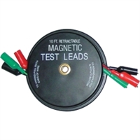 Kastar 3 x 10' Magnetic Retractable Test Leads KAS1135