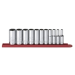 "KD Tools 11 Piece 3/8"" Drive 12 Point Deep SAE Socket Set KDT80563"