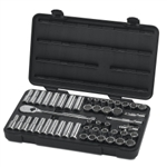 "KD Tools 1/2"" Drive 49 Piece 12 Point SAE/Metric Socket Set KDT80701"