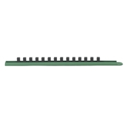 "1/4"" DRIVE SLIDE SOCKET RAIL (Green)"