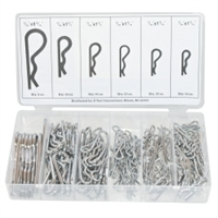 K Tool International 150 Piece Hitch Pin Assortment Kit KTI00071