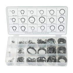 K Tool International 300 Piece Snap Ring Assortment KTI00077