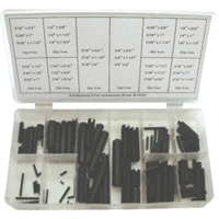 K Tool International 120 Piece Roll Pin Assortment KTI00093