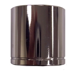 "K Tool international 3/8"" Drive 26mm Standard 6 Point Chrome Socket KTI27126"